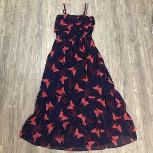 EXPRESS Butterfly Maxi Dress